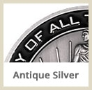 fin asilver - Custom Coins - Color On Both Sides