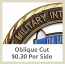 opt oblique - Custom Coins - Color On Both Sides